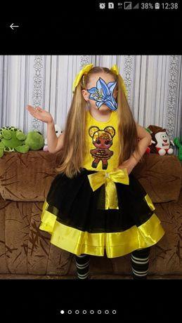 "Платье LOL "" Королева пчёлка"""