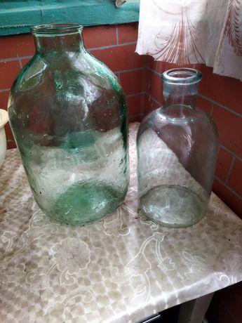 Продам стеклянную бутыль