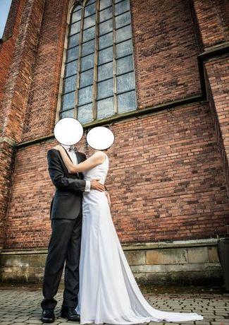 Suknia ślubna+marynarka