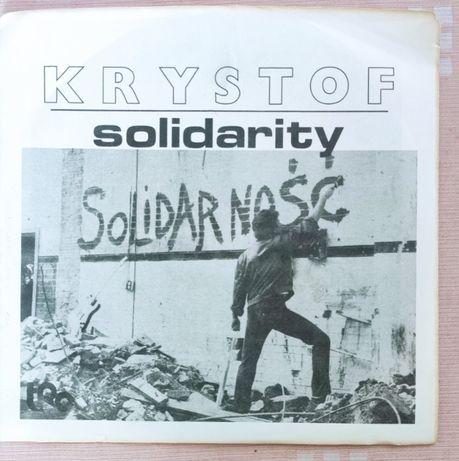 Płyta Winylowa Krzysztof Krawczyk Solidarność Krystof Solidarity