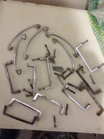 Ручки для мебели сталь хром