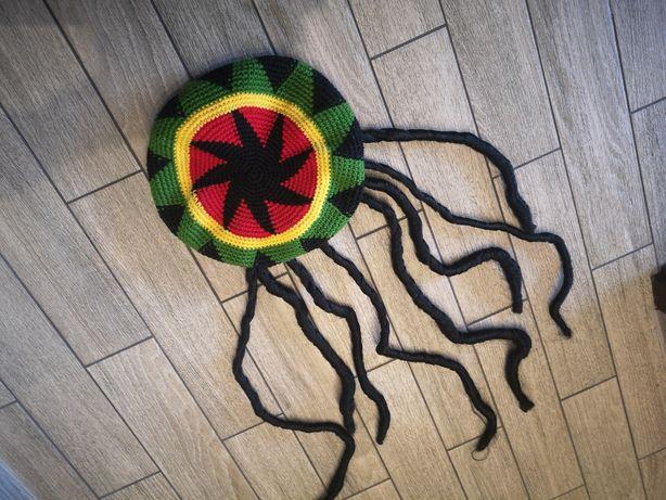 Peruka Bob Marley, dready, reggae, Jamajka, rasta