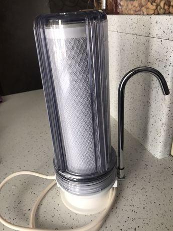 Фильтр для воды Водограй ФПВ-1011, настольный, однокорпусный