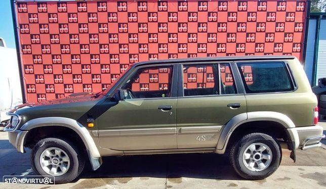 Viatura para PEÇAS Nissan Patrol GR Y61 2.8 TD6 99´