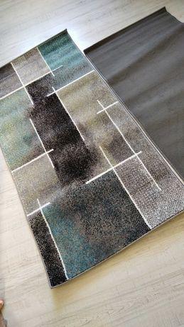 Dywan, dywanik 70x140 odcienie szarości