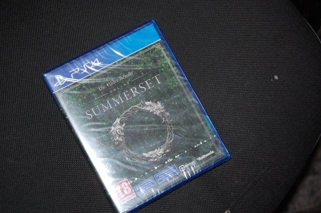 Gra PS4 The Elder Scrolls Online: Summerset Nowa Folia