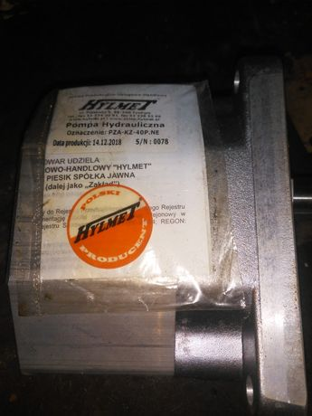 Pompa hydrauliczna nowa