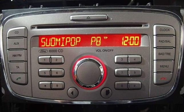 Radioodtwarzacz CD Ford 6000