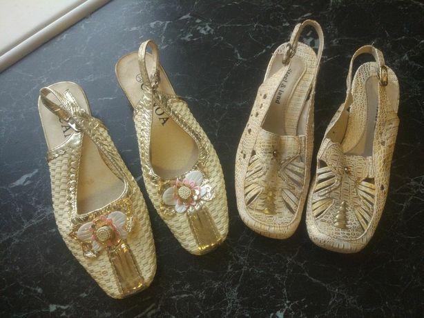 Новые босоножки туфельки 21 см 70₽
