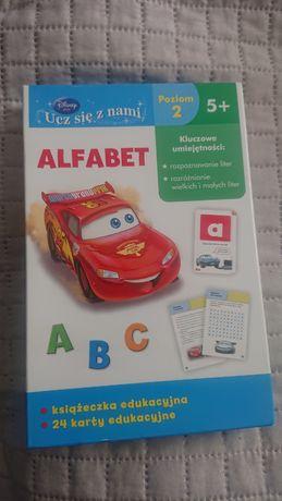 Karty Alfabet i karty zygzak mc liczby , kształy