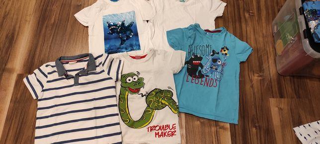Koszulki rozmiar 116-122