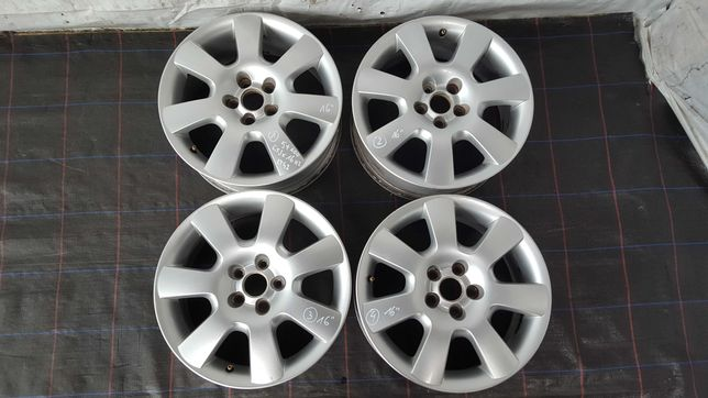 Felgi aluminiowe kpl 5x100 BORBET 6,5Jx16cali ET42 VW Audi Seat Skoda