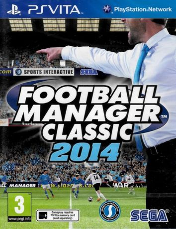 Football Manager Classic 2014 PS VITA pl