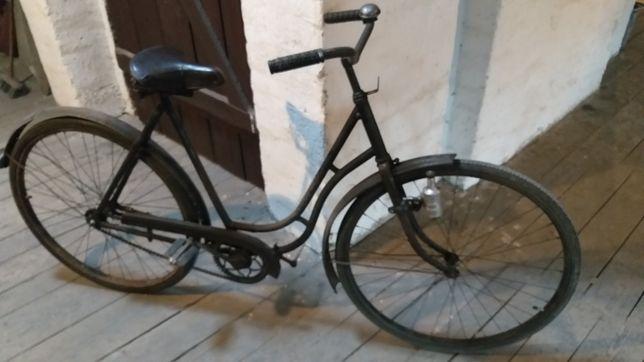 Oryginalny niemiecki rower damka.