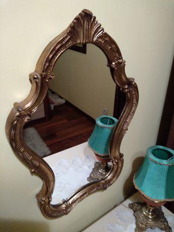 Piękne antyczne lustro w idealnym stanie