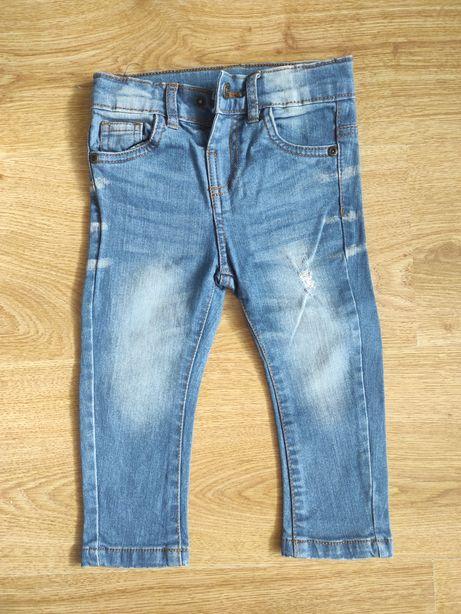 Spodnie jeansowe 86 Pepco