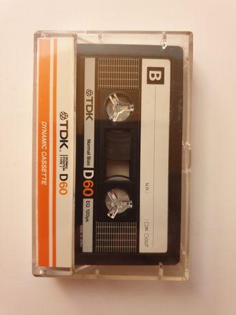 Kaseta magnetofonowa kolekcjonerska TDK