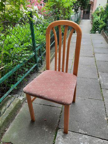Krzesła drewniane solidne 2szt.