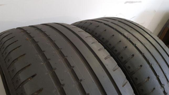 Летние шины Continental sportcont 225/50/16 пара 4.5 мм 205/215/55/ 60