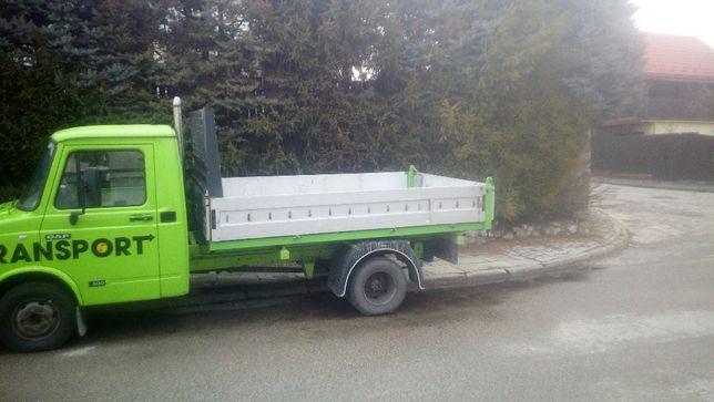 Transport wywrotka 3.5T minikoparka piasek kamień gruz beton ziemia