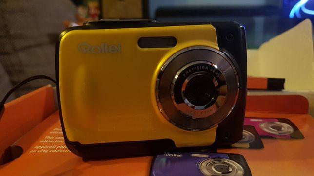 Máquina fotográfica à prova de água