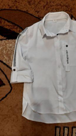 Рубашка школьная, рост 150-164
