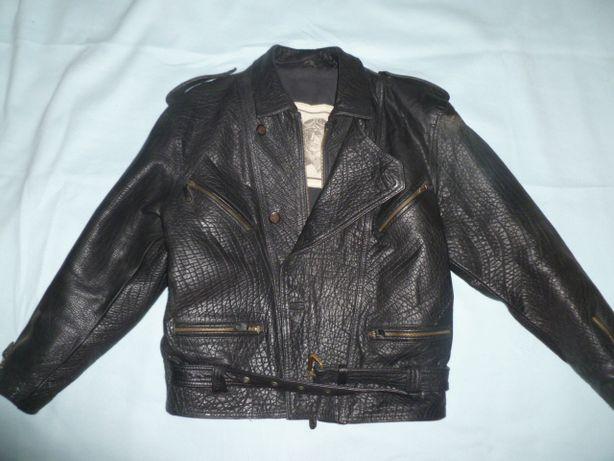 Куртка кожаная косуха (байкер)