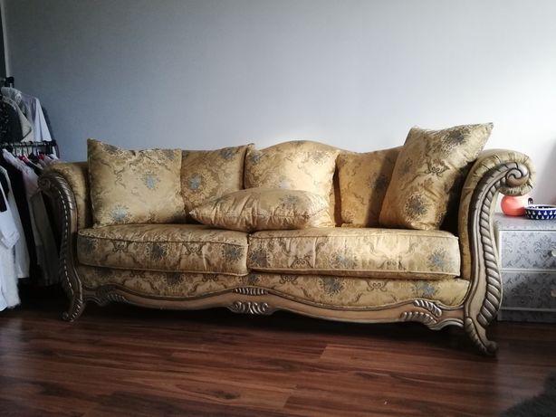 PILNE!! Stylowa złota sofa glamour styl versace pałacowa