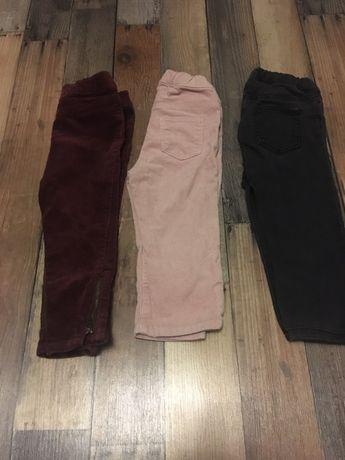 Spodnie hm 86 cm