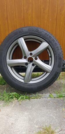 Felgi aluminiowe z oponami  zimowymi r17  7.5JX17h2