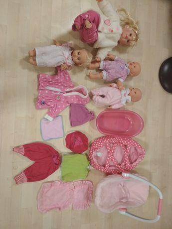 Lalki nosidełko wanienka ciuszki koniki i wiele innych zabawek