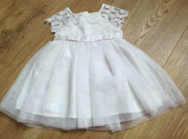 Sukienka niemowlęca r.68 + gratis