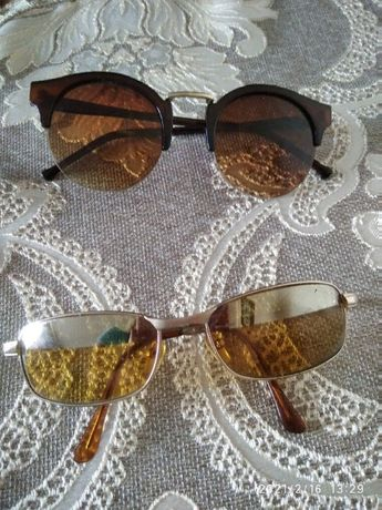 очки  для водителя- солнцезащитные