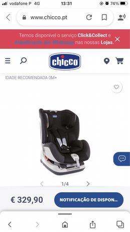 Cadeira chicco 0-25 Kg