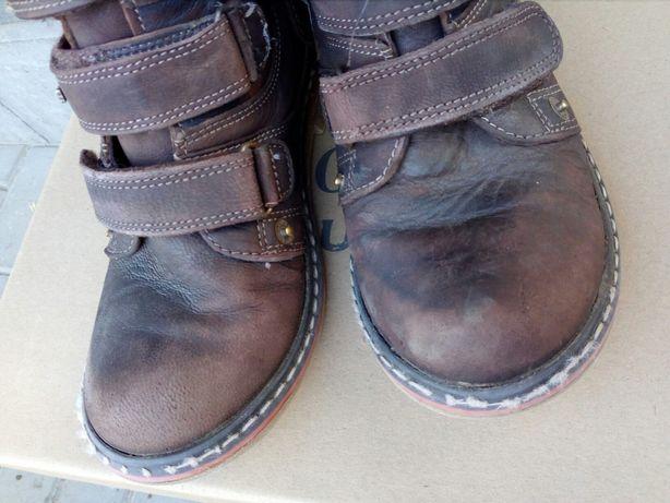 Kozaki dla chłopca, 33, buty zimowe, ocieplane