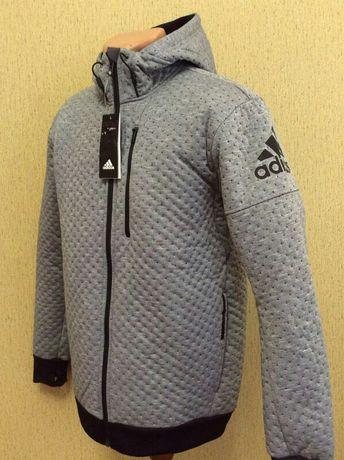 Новая перфорированная куртка бомбер ADIDAS оригинал размер M
