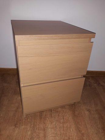 Szafka nocna Ikea Malm stolik nocny szuflady