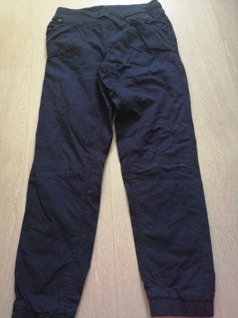 Тёплые коттоновые штанишек, брюки cool-club для девочки р. 140