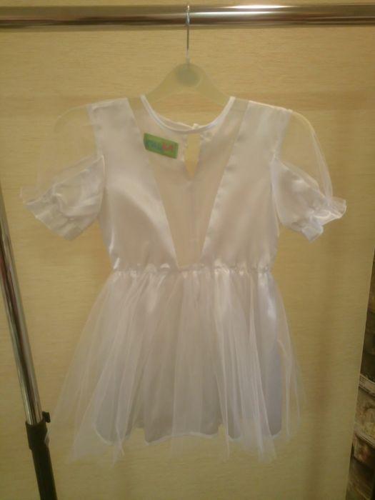 Платье белое на 5-6 лет Харьков - изображение 1