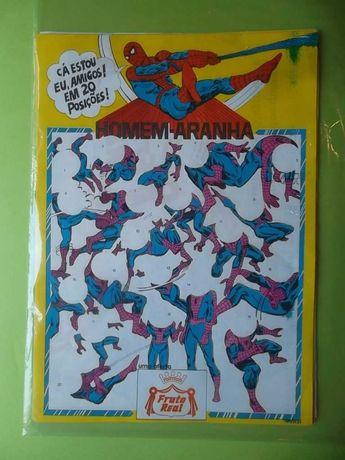 FRUTO REAL - HOMEM-ARANHA (Poster Caderneta)