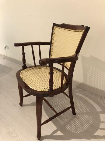 Cadeira de Braços de Palhinha Vintage