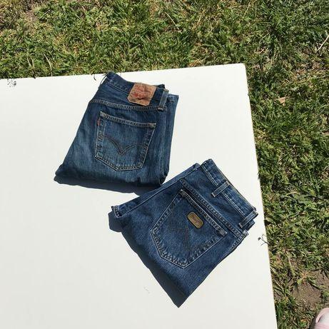 Винтажные джинсы Levi's, Wrangler, Carhartt