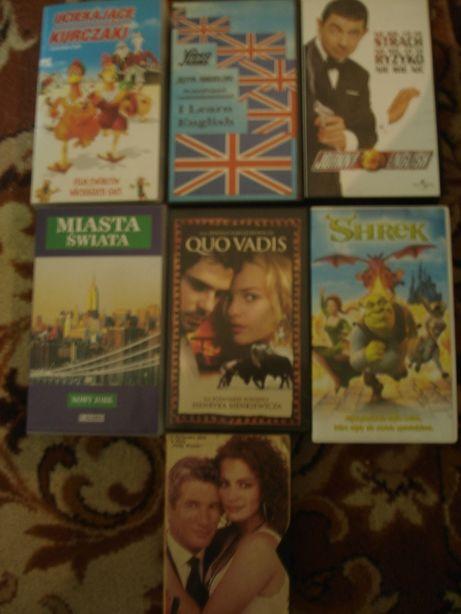 Kasety VHS mocne tytułu klasyka kina