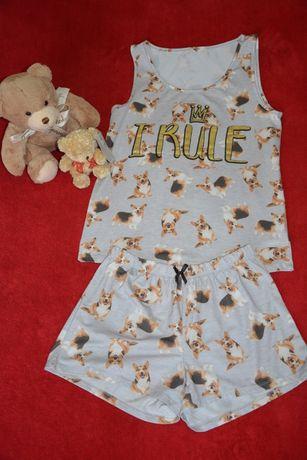 Пижама George майка и шорты для сна/для дома