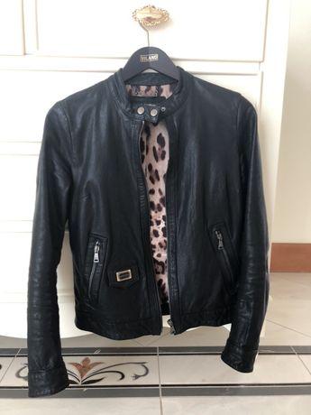 Кожаная куртка Dolce & Gabbana (оригинал)