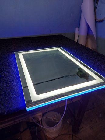LED зеркало,любой дизайн,премиум качество.Зеркало с подсветкой!