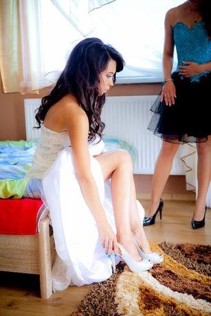 Piękne buty ślubne i nie tylko