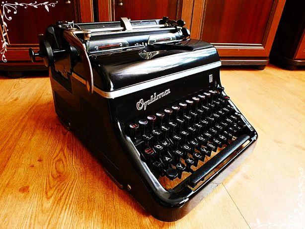 Stara DUŻA maszyna do pisania Optima M10 Piękny zabytek! 100% Oryginał