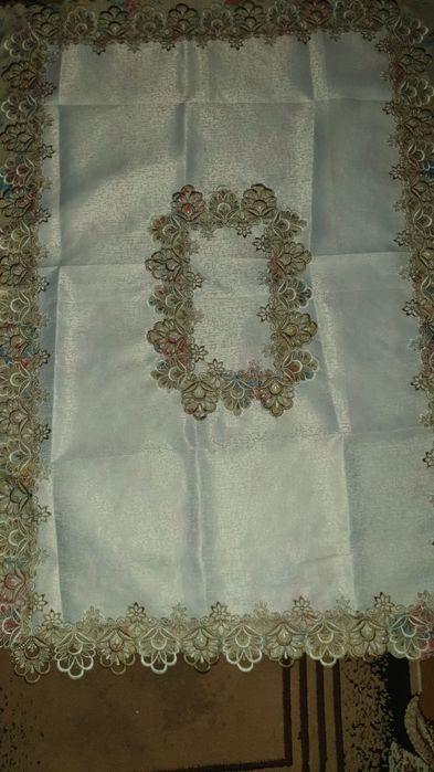 Тефлоновая скатерть ажурная. Софиевская Борщаговка - изображение 1