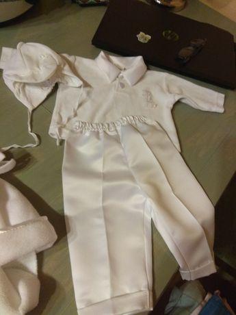 Ubranie dla chłopca do chrztu rozm. 62